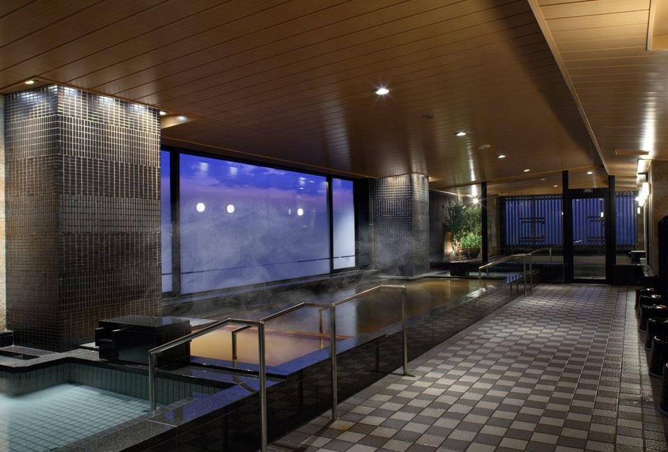 ホテルモントレ浴場