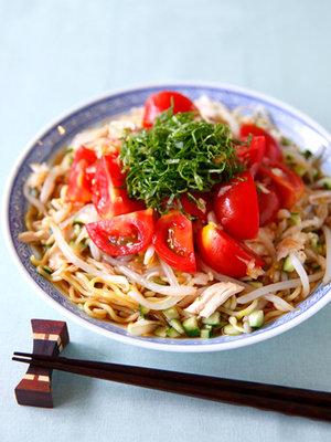 トマトの冷やし中華